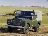 Photos of Land Rover Series I 80 Soft Top 1948–54