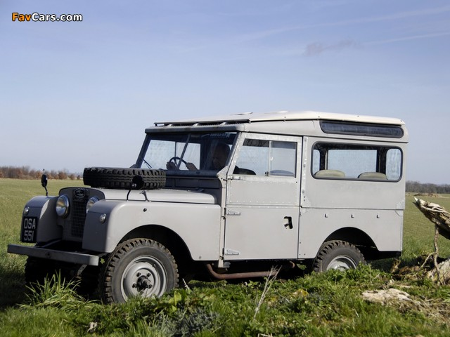 Pictures of Land Rover Series I 86 Station Wagon 1954–57 (640 x 480)