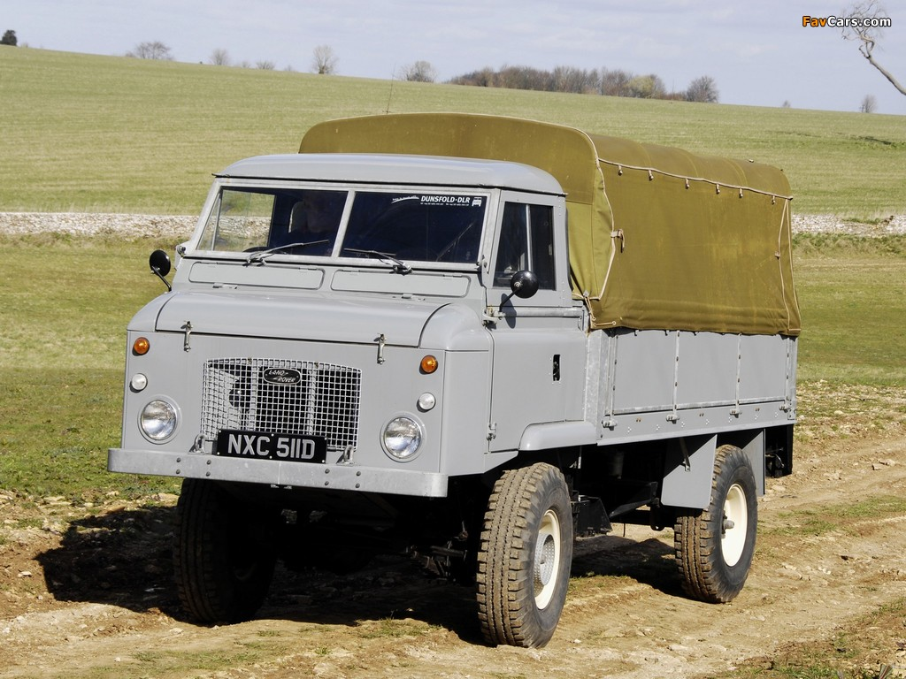 Land Rover Series II Forward Control 1962–74 images (1024 x 768)