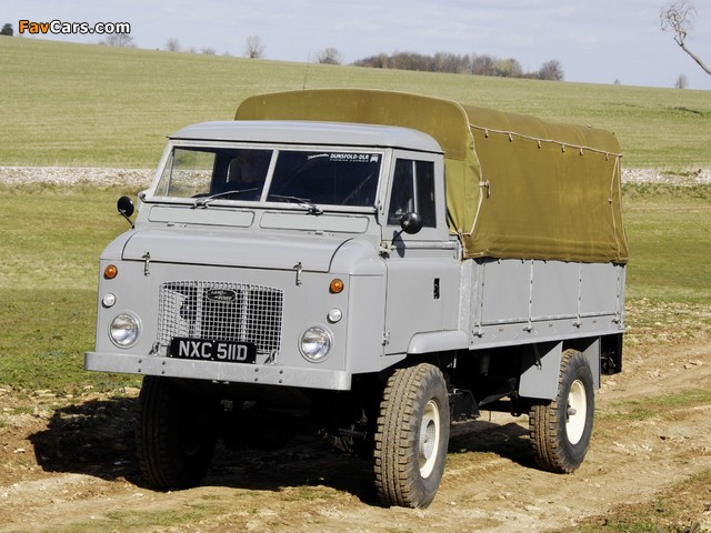 Land Rover Series II Forward Control 1962–74 images (640 x 480)