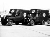 Land Rover Series II 109 Ambulance Prototype 1959 wallpapers