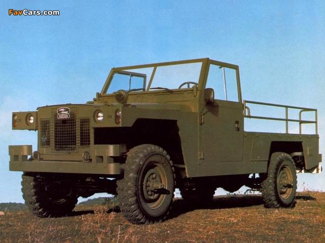 Land Rover Santana 109 Militar 1969 images (640 x 480)