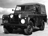 Pictures of Land Rover Series II 88 Command Reconnaissance 1958