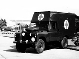 Wallpapers of Land Rover Series II 109 Ambulance Pilot Model B 1959