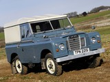 Land Rover Series III 88 Hard Top 1971–85 wallpapers