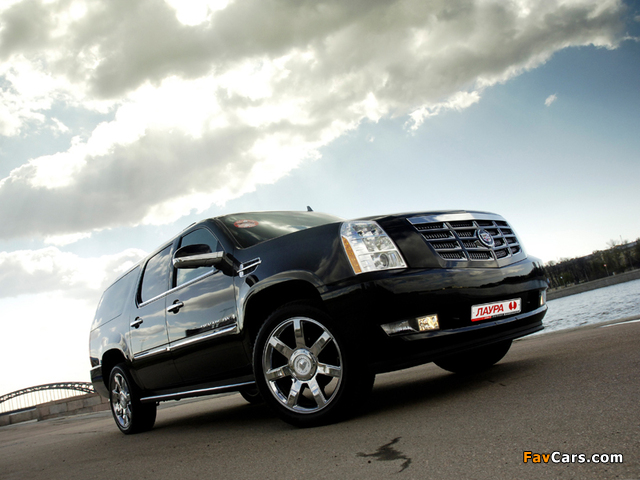 Cadillac Escalade ESV 2009 photos (640 x 480)