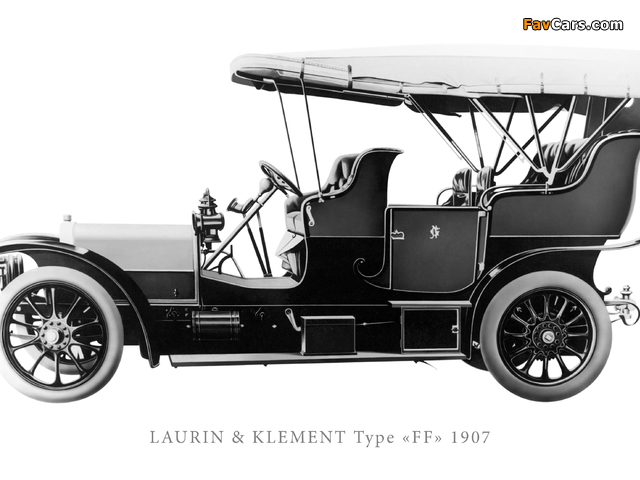 Pictures of Laurin & Klement Type FF (640 x 480)