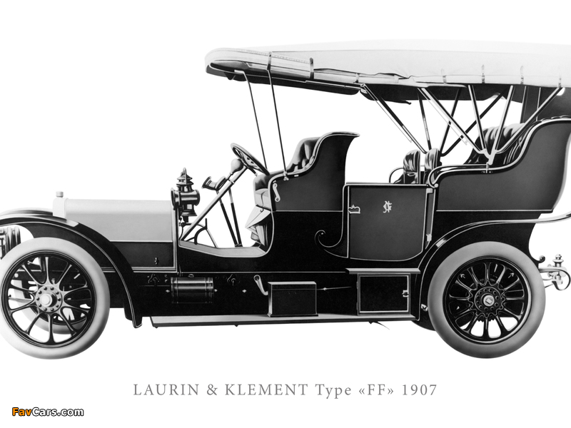 Pictures of Laurin & Klement Type FF (800 x 600)