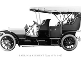 Pictures of Laurin & Klement Type FF