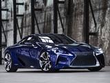 Lexus LF-LC Blue Concept 2012 pictures