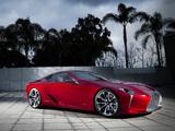 Lexus LF-LC Concept 2012 wallpapers