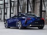 Lexus LF-LC Blue Concept 2012 wallpapers