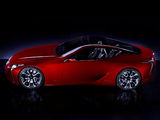 Pictures of Lexus LF-LC Concept 2012