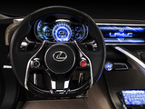 Pictures of Lexus LF-LC Blue Concept 2012