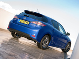 Images of Lexus CT 200h F-Sport UK-spec 2011–14