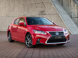 Images of Lexus CT 200h F-Sport AU-spec 2014