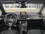 Images of Lexus CT 200h F-Sport EU-spec 2014