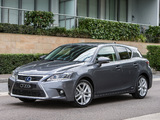 Images of Lexus CT 200h AU-spec 2014