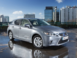 Images of Lexus CT 200h UK-spec 2014