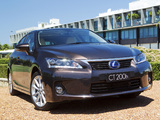 Lexus CT 200h F-Sport AU-spec 2011 images