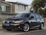Lexus CT 200h F-Sport AU-spec 2011 photos