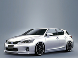 Artisan Spirits Lexus CT200h 2011 wallpapers