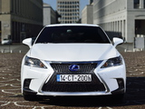 Lexus CT 200h F-Sport EU-spec 2014 images