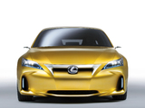 Photos of Lexus LF-Ch Compact Concept 2009
