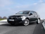 Photos of Lexus CT 200h UK-spec 2010–14