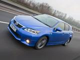 Photos of Lexus CT 200h F-Sport UK-spec 2011–14