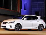Photos of Lexus CT 200h F-Sport ZA-spec 2011–14