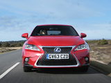 Photos of Lexus CT 200h F-Sport UK-spec 2014