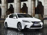 Pictures of Lexus CT 200h F-Sport EU-spec 2014