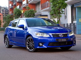 Lexus CT 200h F-Sport AU-spec 2011 wallpapers