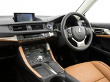 Wallpapers of Lexus CT 200h AU-spec 2014