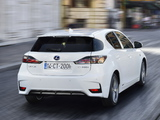 Lexus CT 200h F-Sport EU-spec 2014 wallpapers
