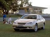 Images of Lexus ES 300 AU-spec 2002–06