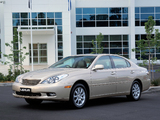 Lexus ES 300 AU-spec 2002–06 photos