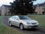 Lexus ES 300 AU-spec 2002–06 pictures