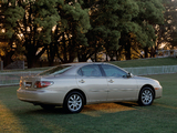Lexus ES 300 AU-spec 2002–06 wallpapers
