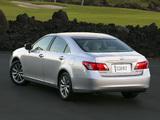 Lexus ES 350 2006–09 pictures