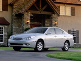 Photos of Lexus ES 300 2001–03