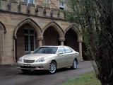 Photos of Lexus ES 300 AU-spec 2002–06
