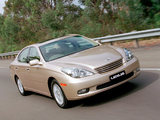 Photos of Lexus ES 300 AU-spec 2002–06