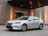 Photos of Lexus ES 300h AU-spec 2013