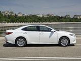 Photos of Lexus ES 350 CIS-spec 2013
