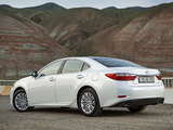 Pictures of Lexus ES 350 CIS-spec 2013