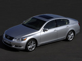 Images of Lexus GS 450h EU-spec 2006–08