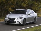 Images of Lexus GS 450h F-Sport AU-spec 2012