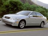 Lexus GS 430 2000–04 images